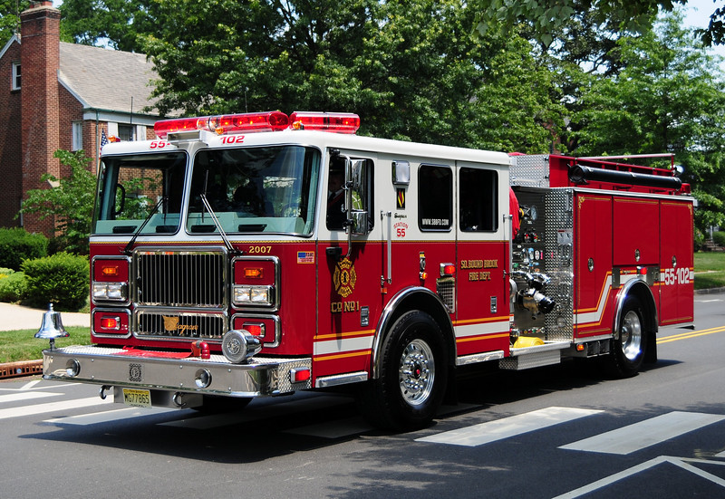 South Bound Brook    Rescue Engine  55-102   2007 Seagrave  1250/ 500