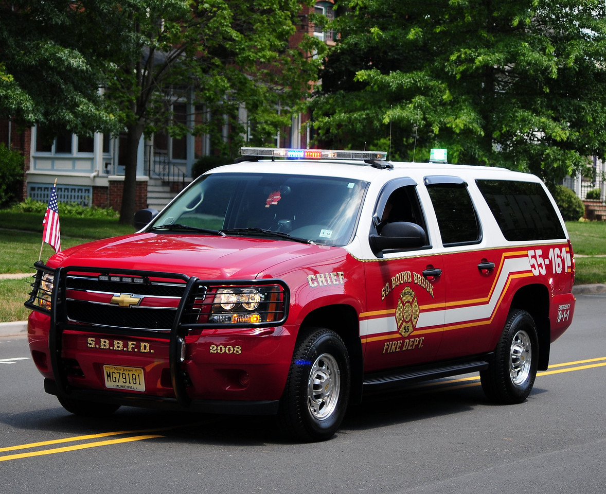 South Bound Brook  Cheif   55-161  2008  Chevy Suburban
