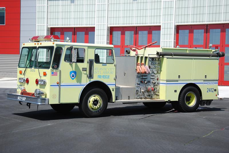 Atlantic City International Airport Fire Department Engine 2412