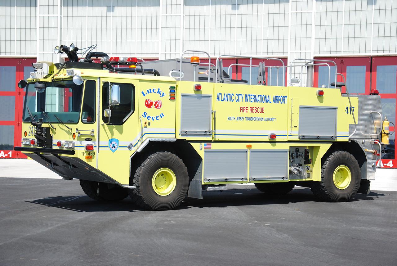 Atlantic City International Airport Fire Department Crash 2417