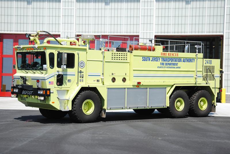 Atlantic City International Airport Fire Department Crash 2418