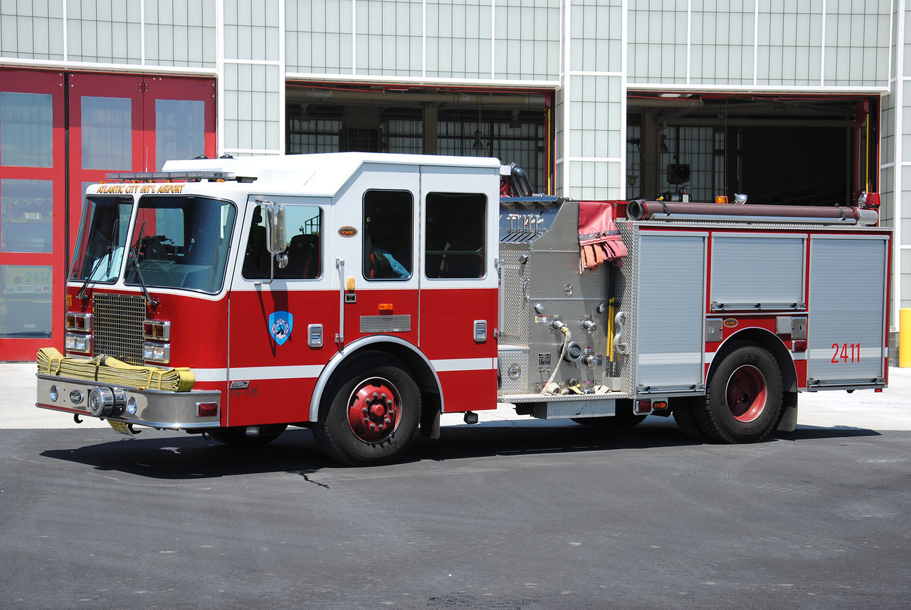 Atlantic City International Airport Fire Department Engine 2411