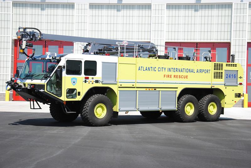 Atlantic City International Airport Fire Department Crash 2416