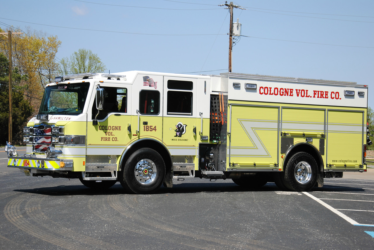 Cologne Fire Company Engine 18-54
