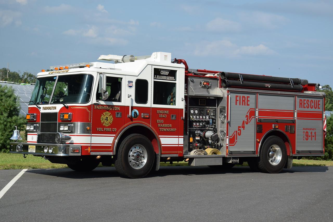 Farmington Fire Company Engine 1543