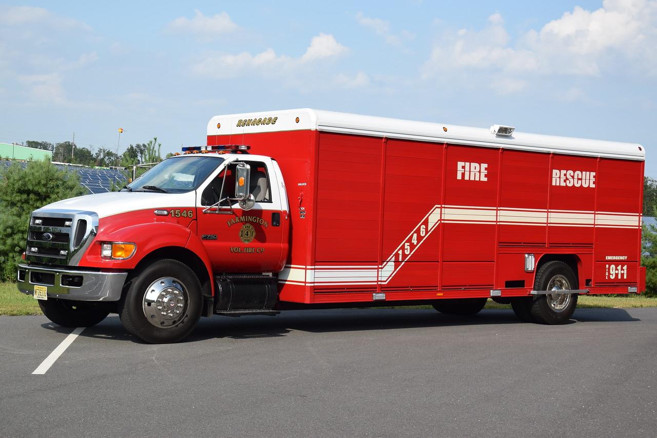 Farmington Fire Company Rescue 15-46
