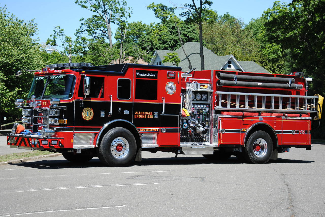 Allendale Fire Department Engine 935