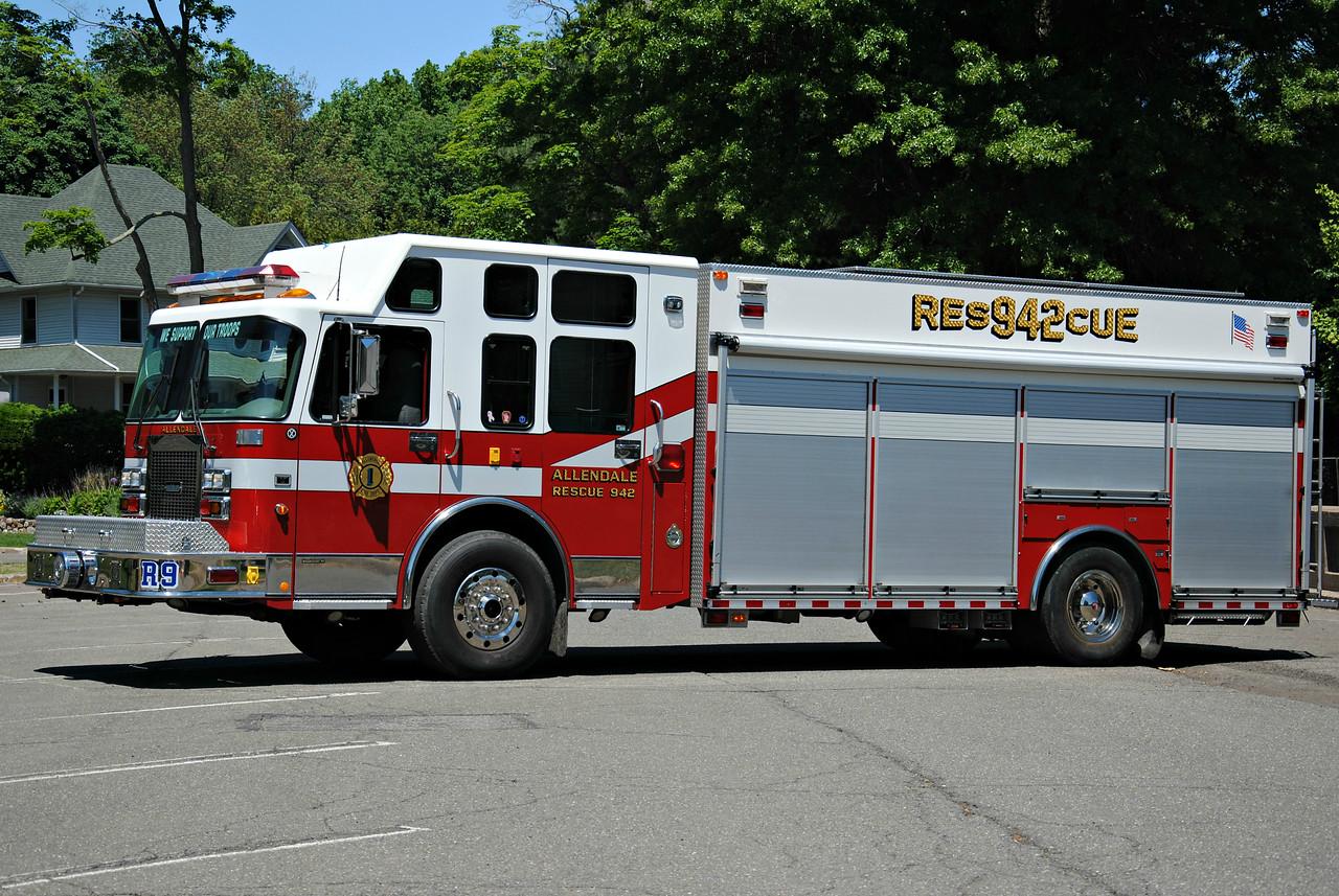 Allendale Fire Department Rescue 942