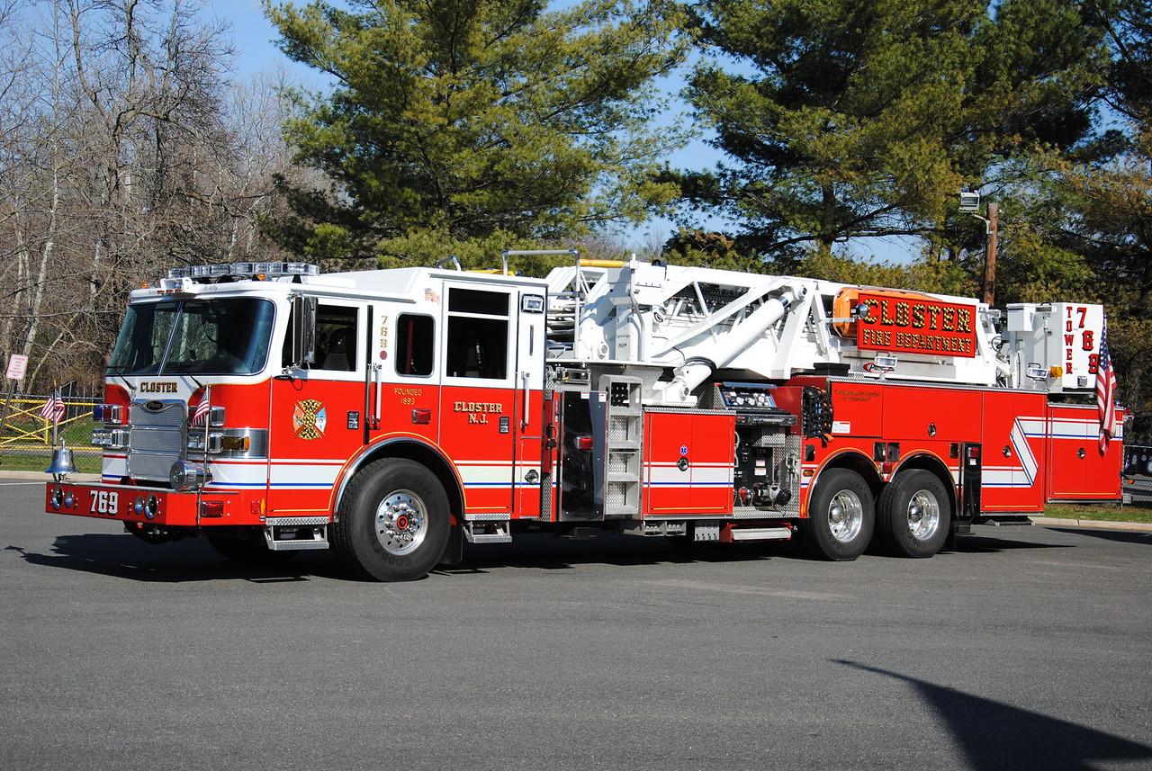 Closter Fire Department Tower 769