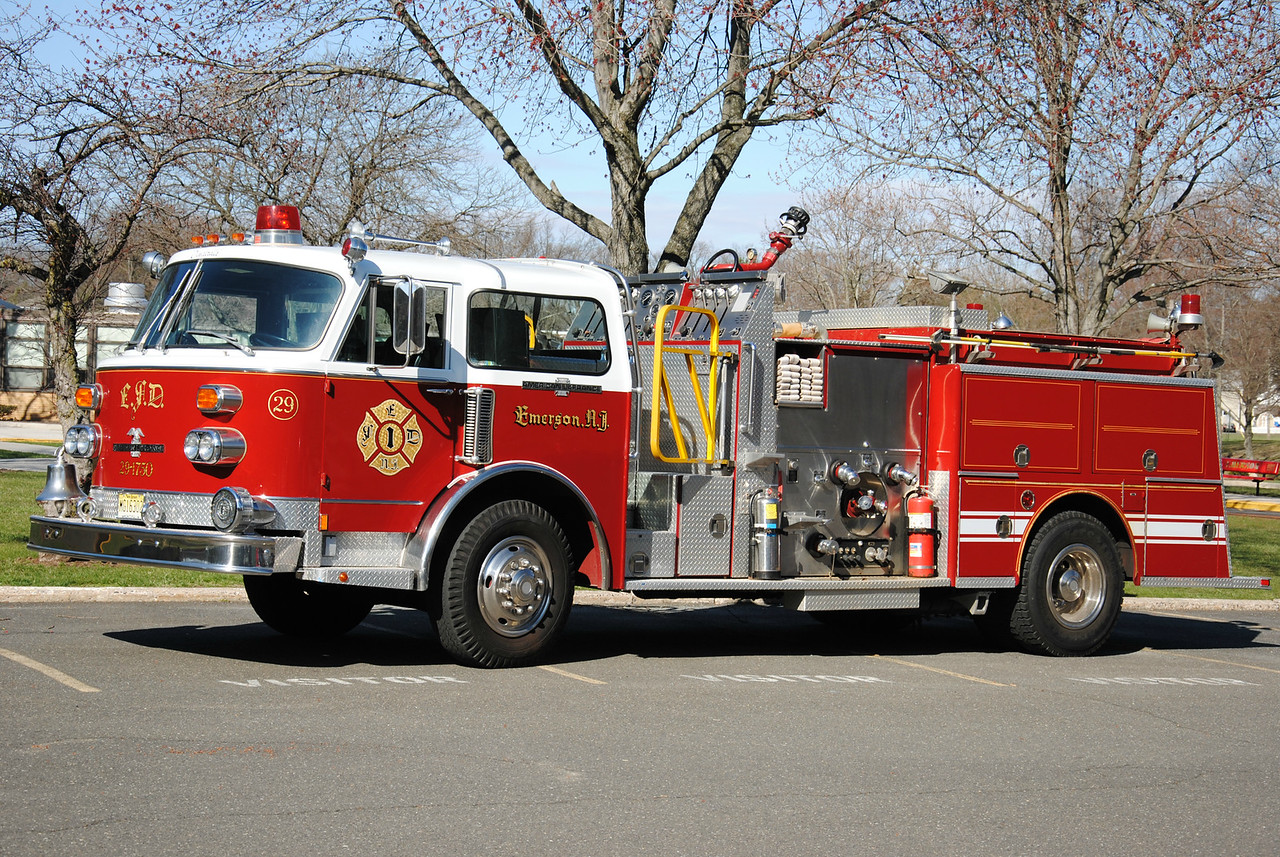 Emerson Fire Department Engine 29