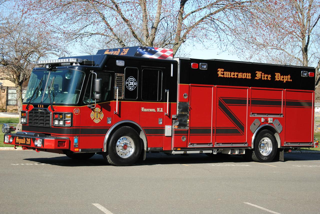 Emerson Fire Department Squad 28