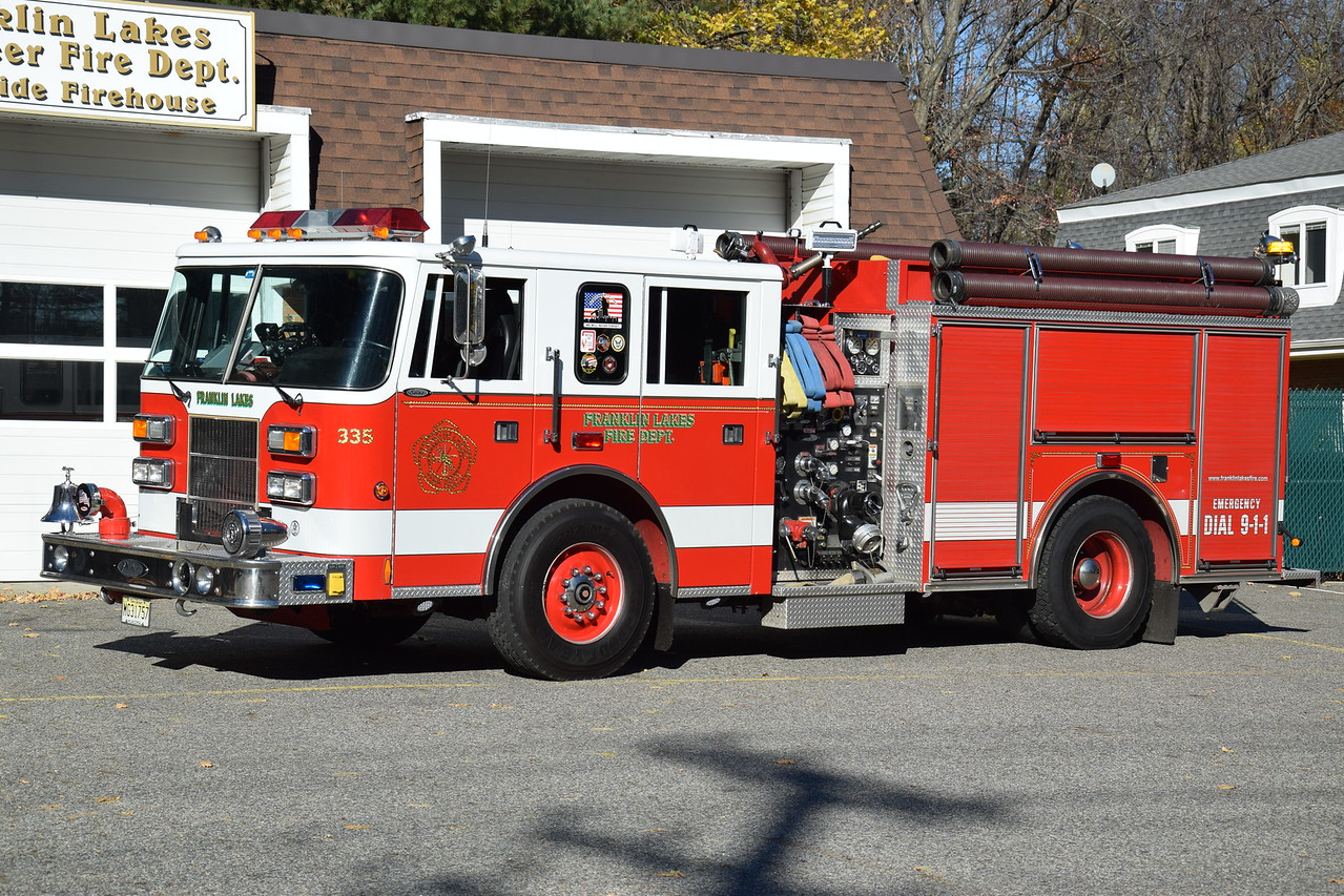 Franklin Lakes Fire Department Engine 335