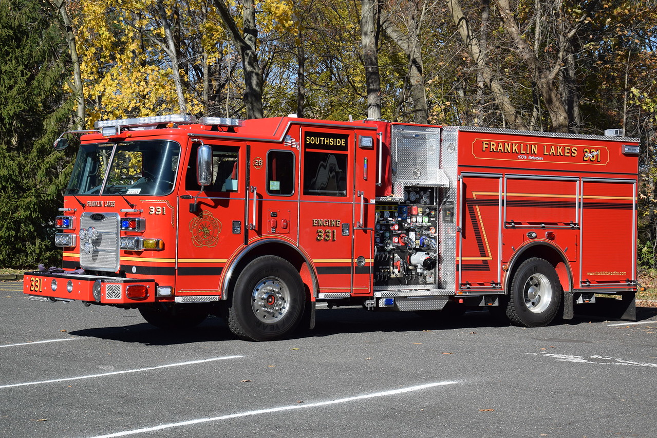 Franklin Lakes Fire Department Engine 331