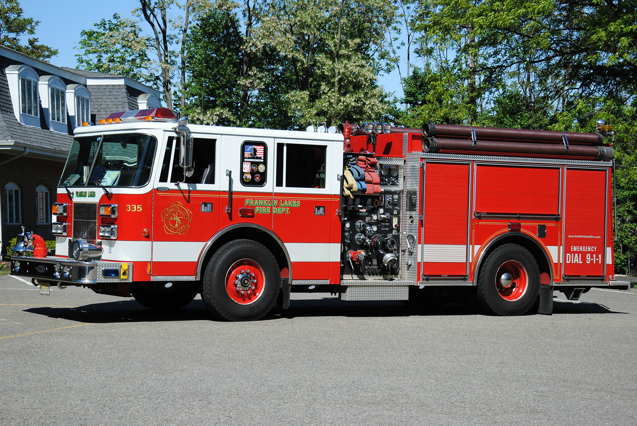Franklin Lakes Fire Department, Franklin Lakes Engine 335