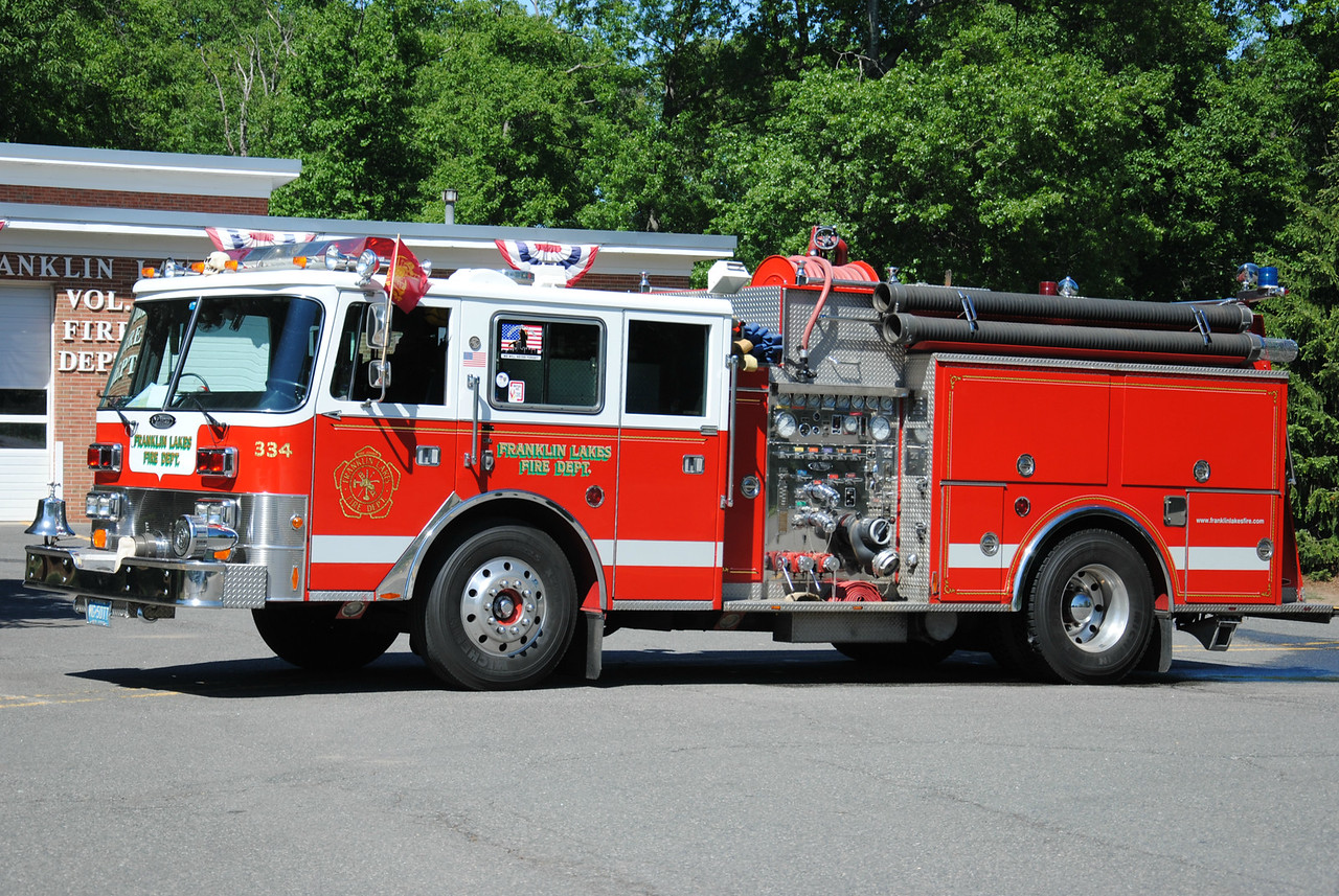 Franklin Lakes Fire Department, Franklin Lakes Engine 334