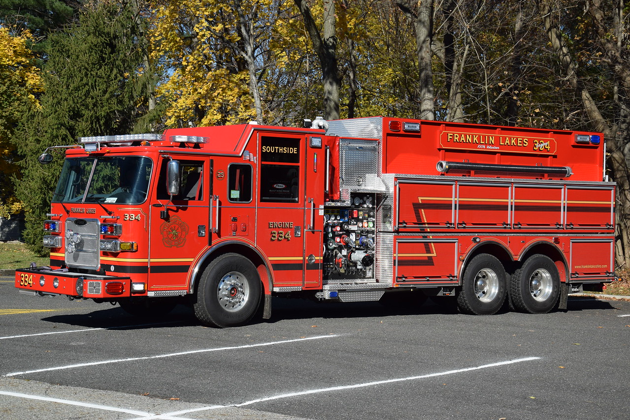 Franklin Lakes Fire Department Engine 334