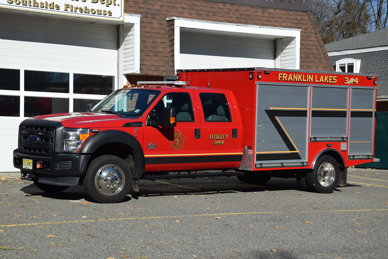 Franklin Lakes Fire Department Utility 344