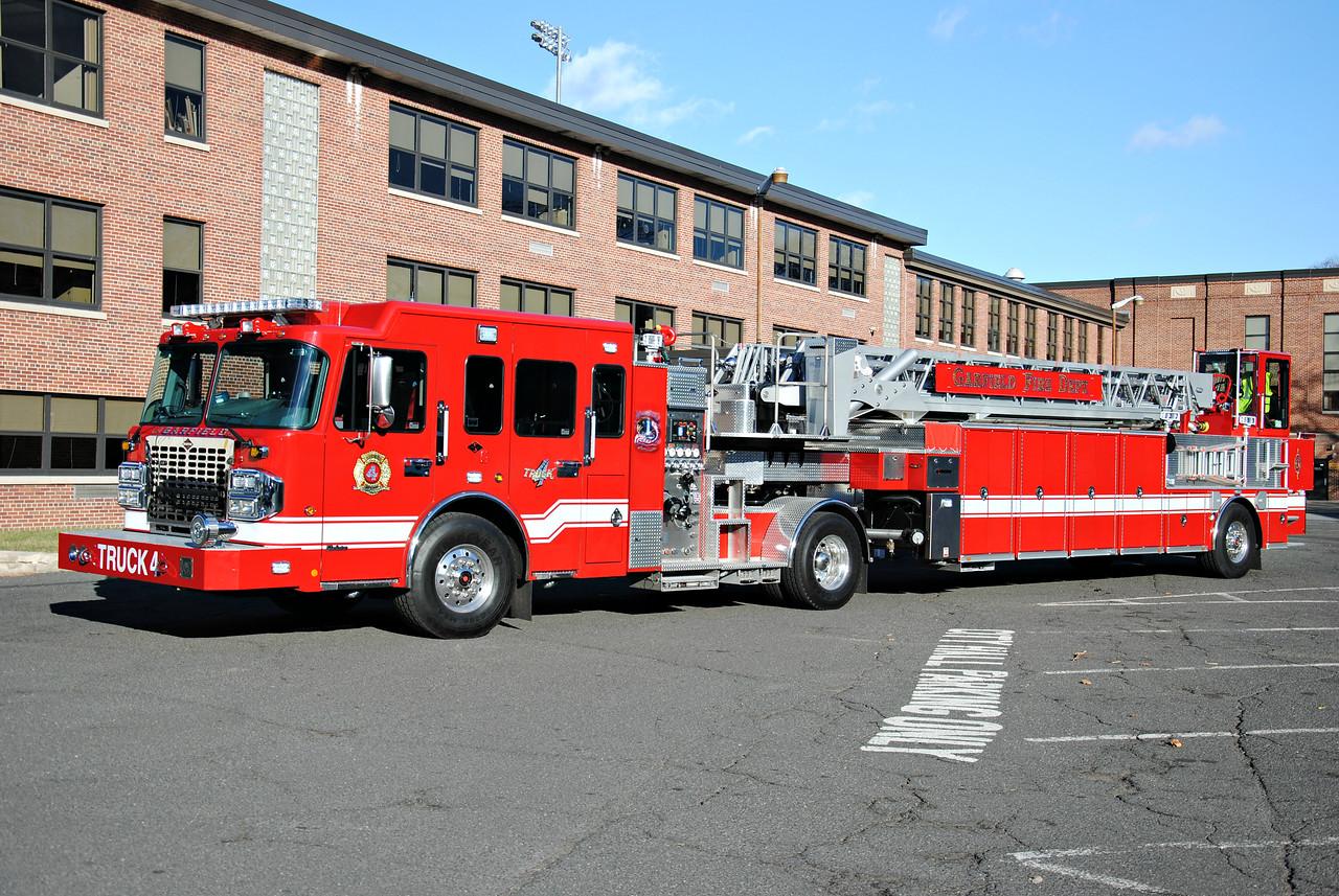 Truck Company #4, Garfield Fire Department Truck 4