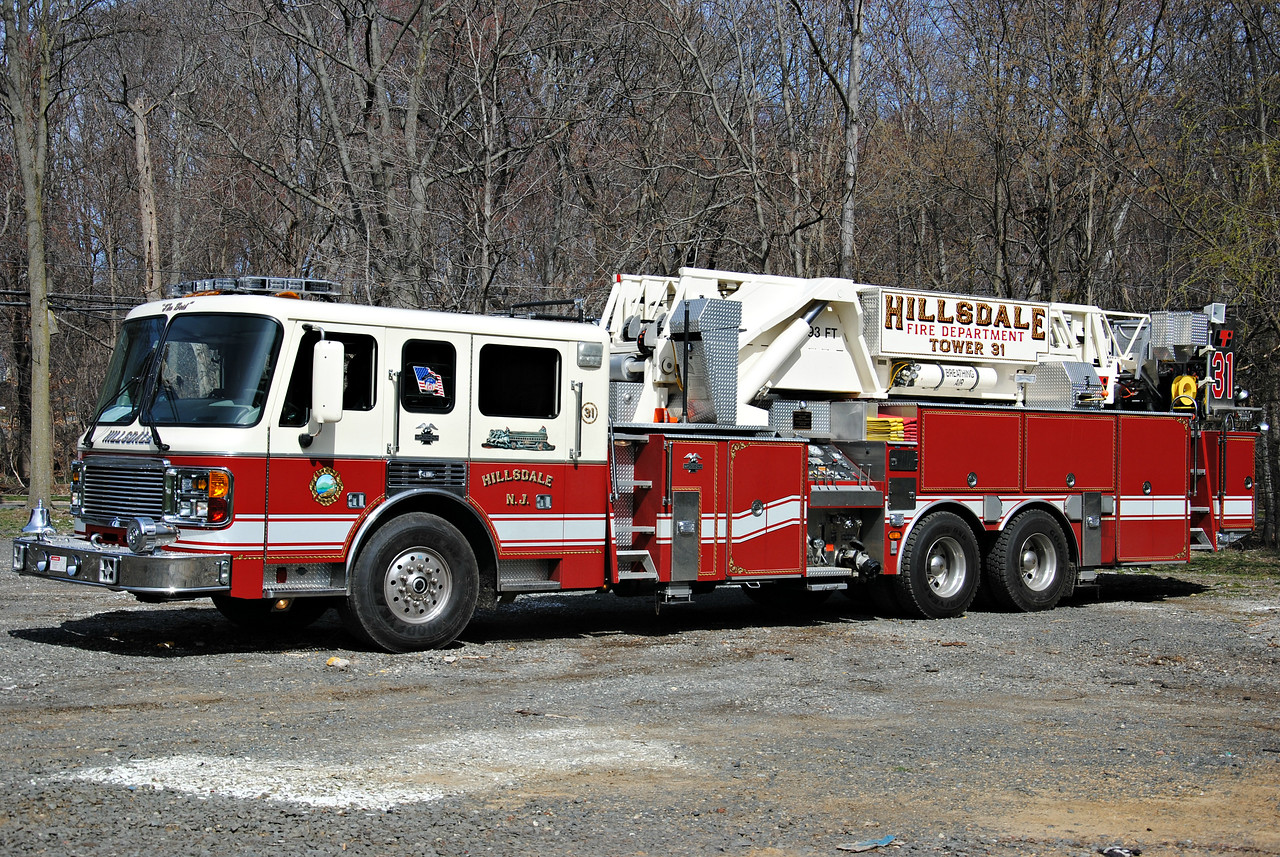 Hillsdale Fire Department Tower 31