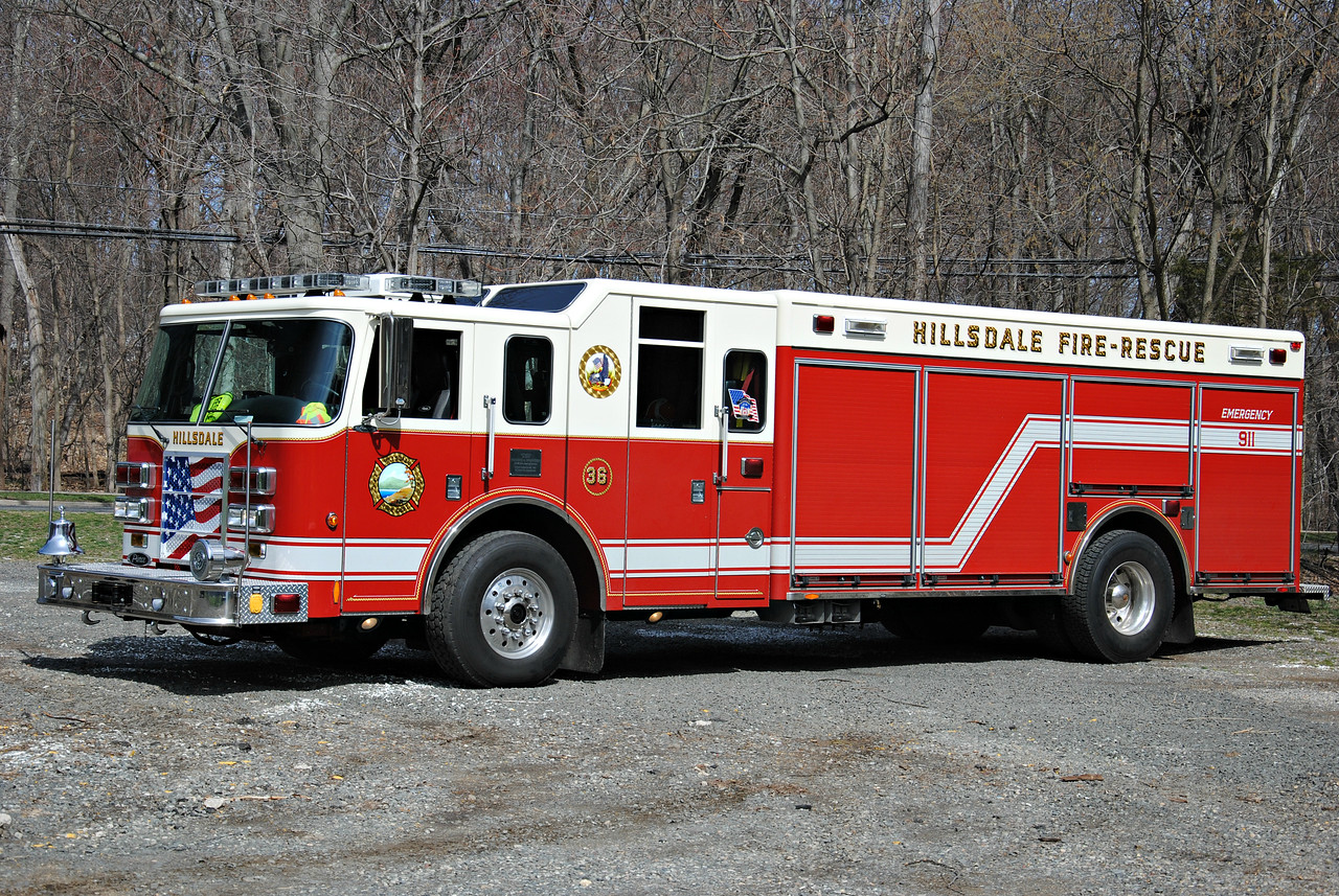 Hillsdale Fire Department Rescue 36