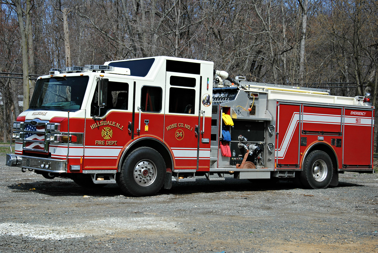 Hillsdale Fire Department Engine 34