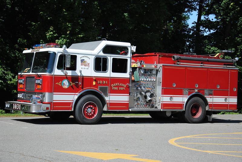 Oakland Fire Department, Oakland Ex-Engine 1031