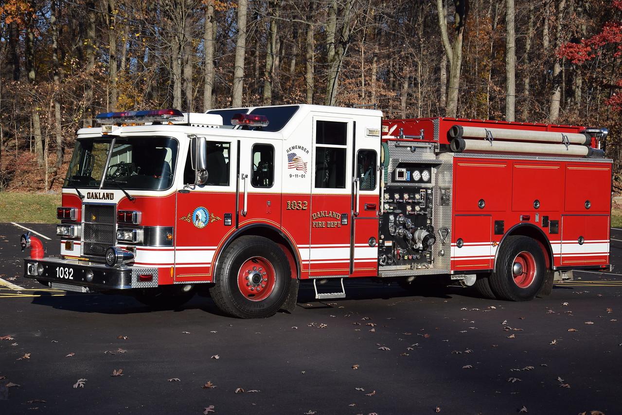 Oakland Fire Department Engine 1032