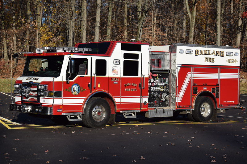 Oakland Fire Department Engine 1034