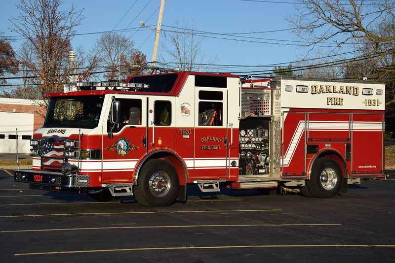 Oakland Fire Department Engine 1031