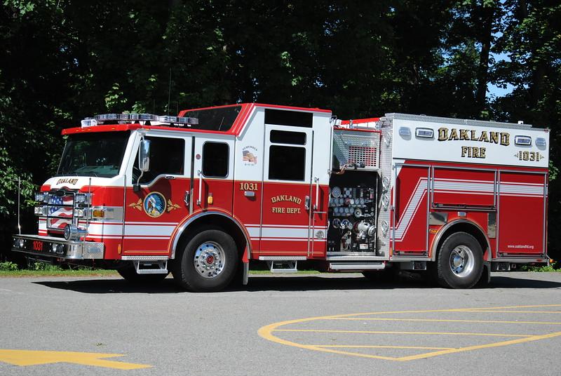 Oakland Fire Department, Oakland Engine 1031