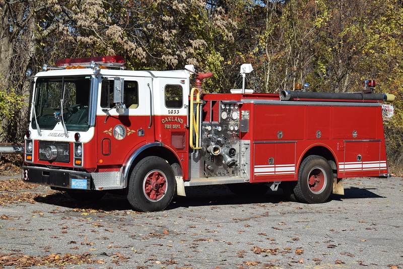Oakland Fire Department Engine 1033