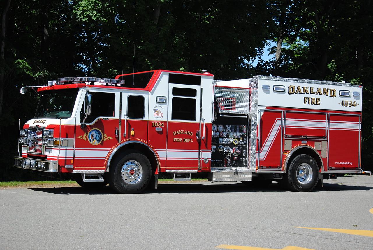 Oakland Fire Department, Oakland Engine 1034