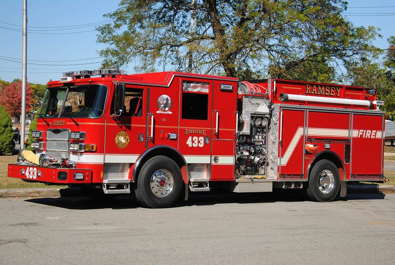 Ramsey Fire Department, Ramsey Engine 433