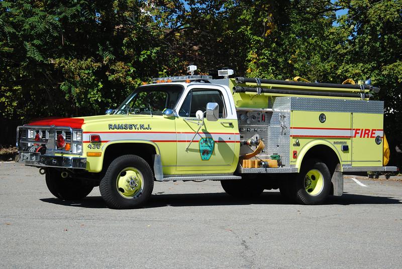 Ramsey Fire Department, Ramsey Mini Engine 436