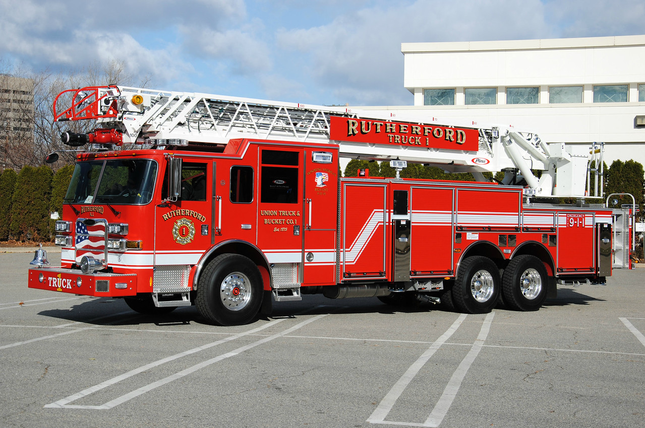 Union Truck & Bucket Company #1, Rutherford Truck 1