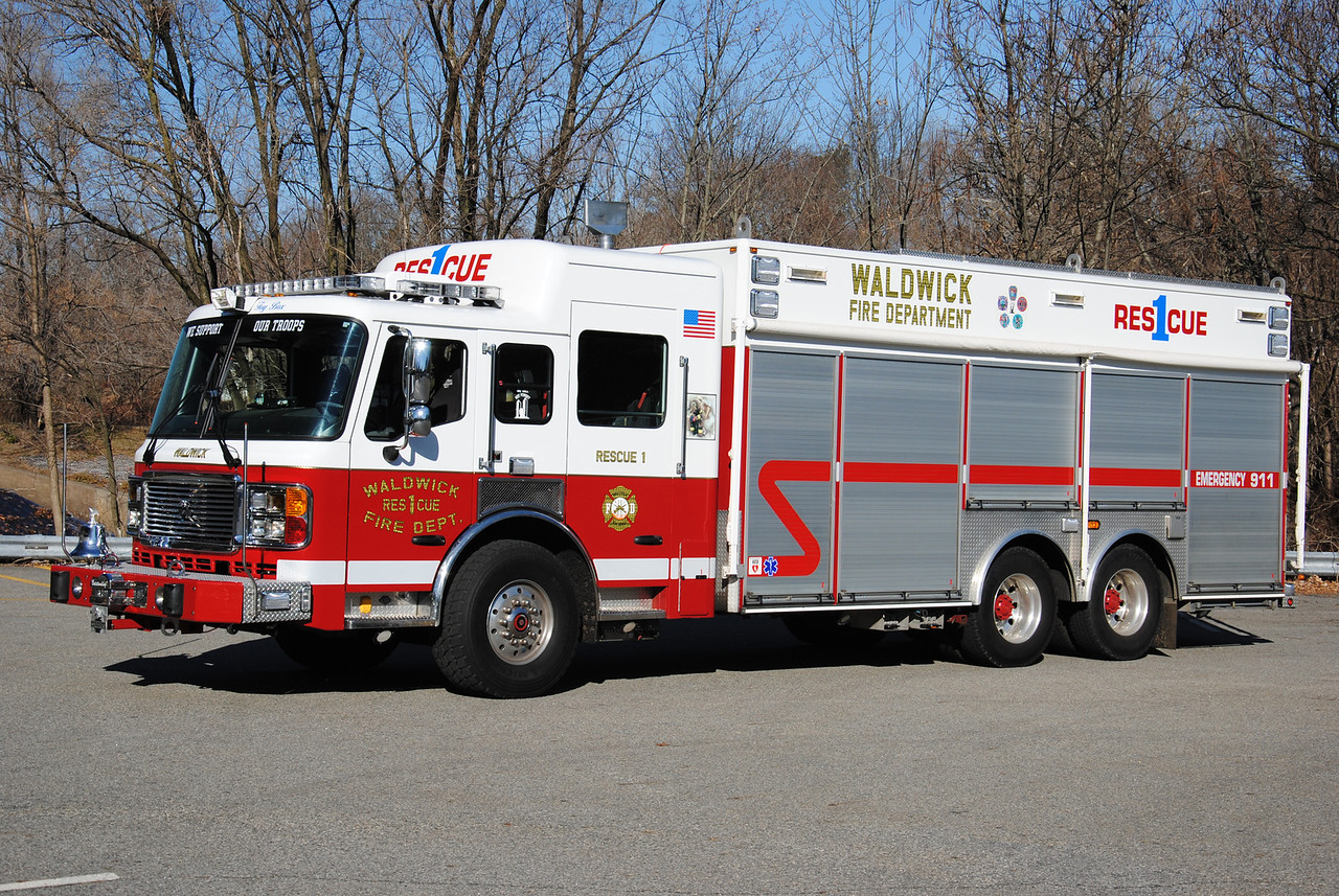 Waldwick Fire Department, Waldwick Rescue 1
