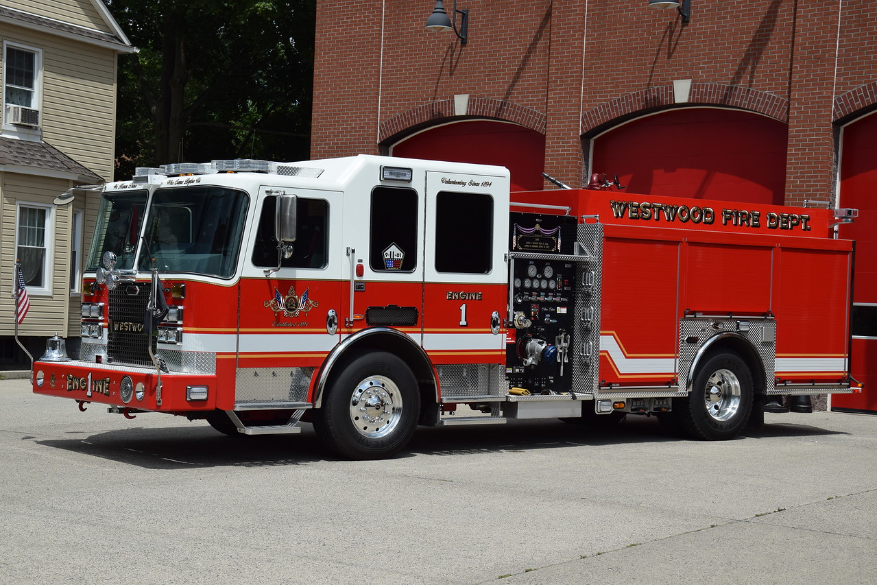 Westwood Fire Department Engine 1