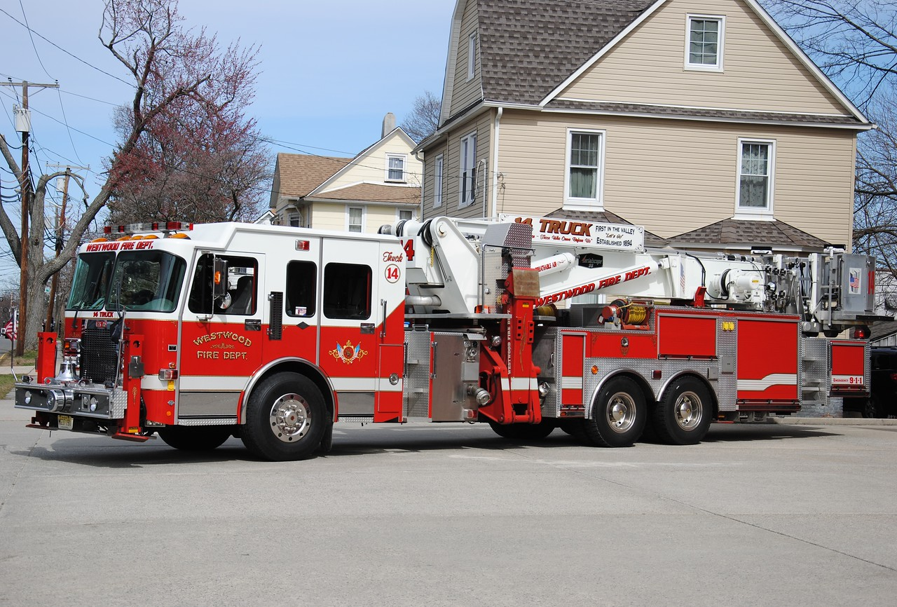 Westwood Fire Department Truck 14