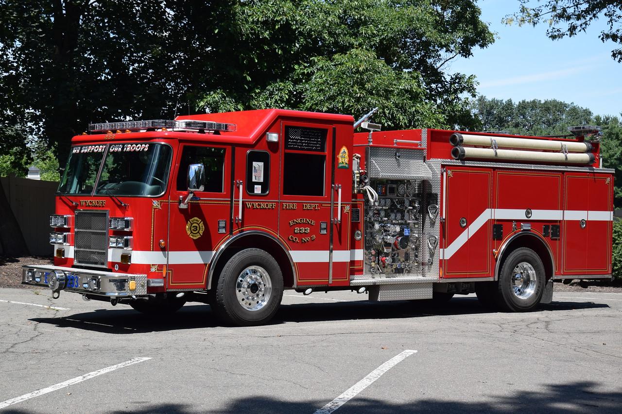 Wyckoff Engine Company #3 Engine 233