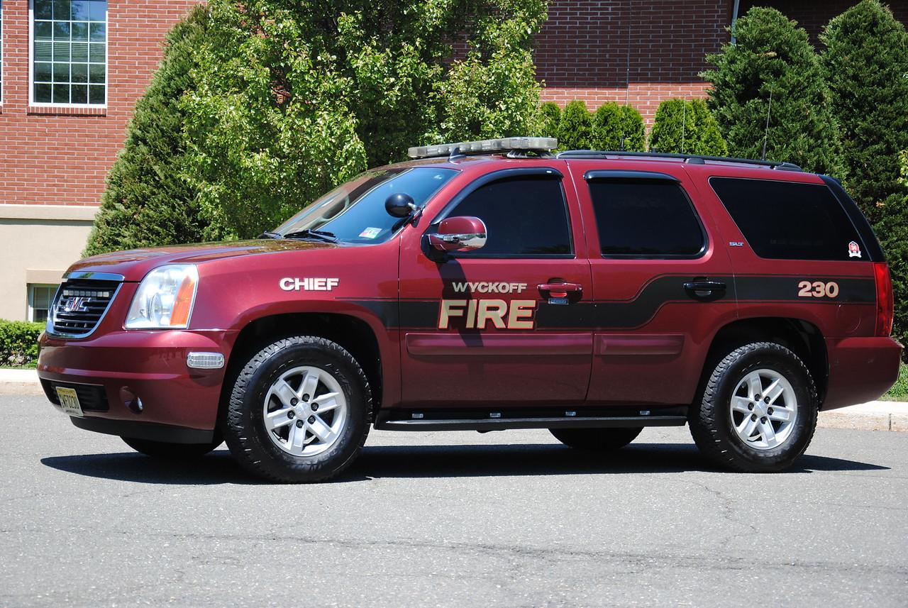 Wyckoff Fire Department, Wyckoff Chief 230
