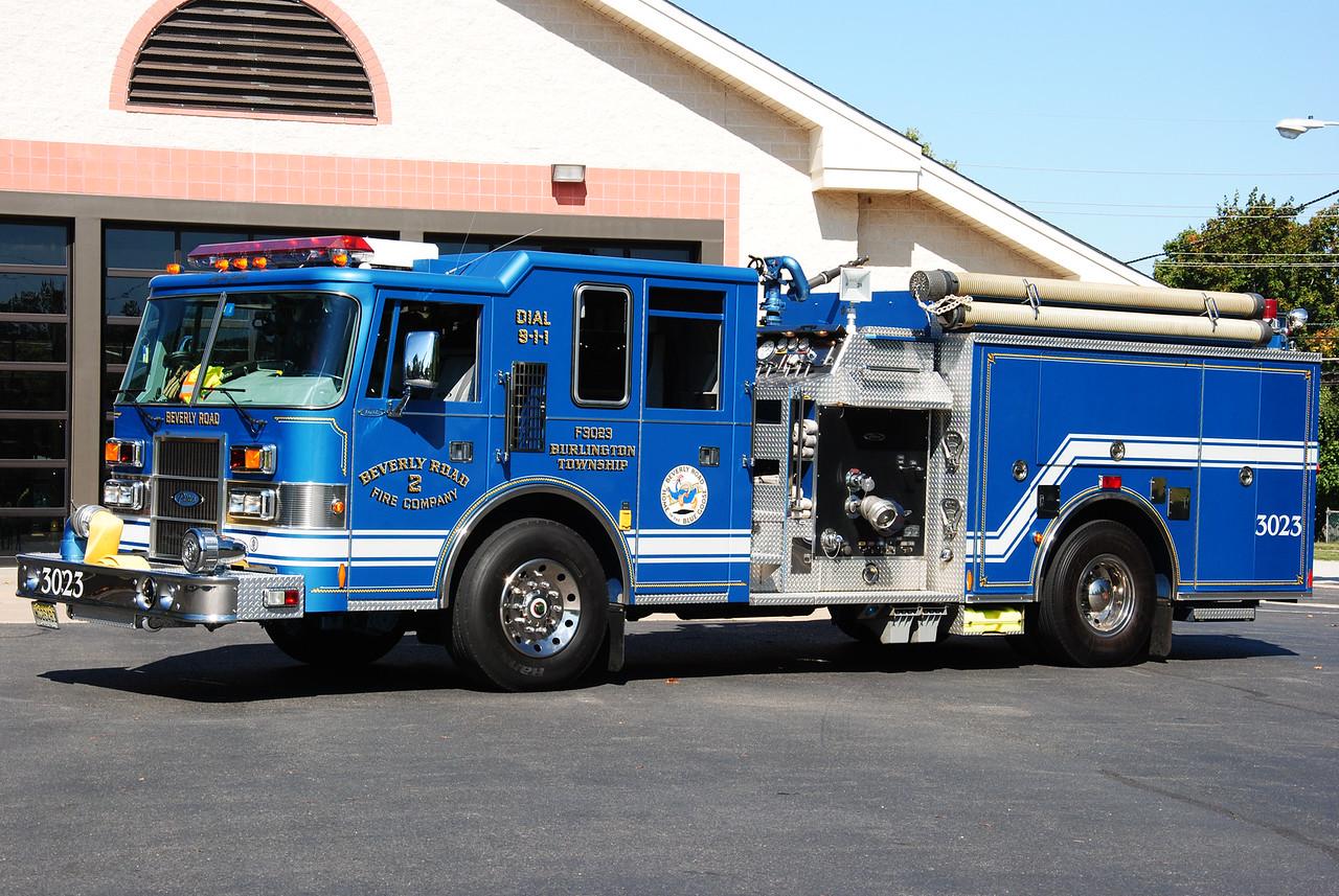 Beverly Road Fire Company, Burlington Twp Engine 3023