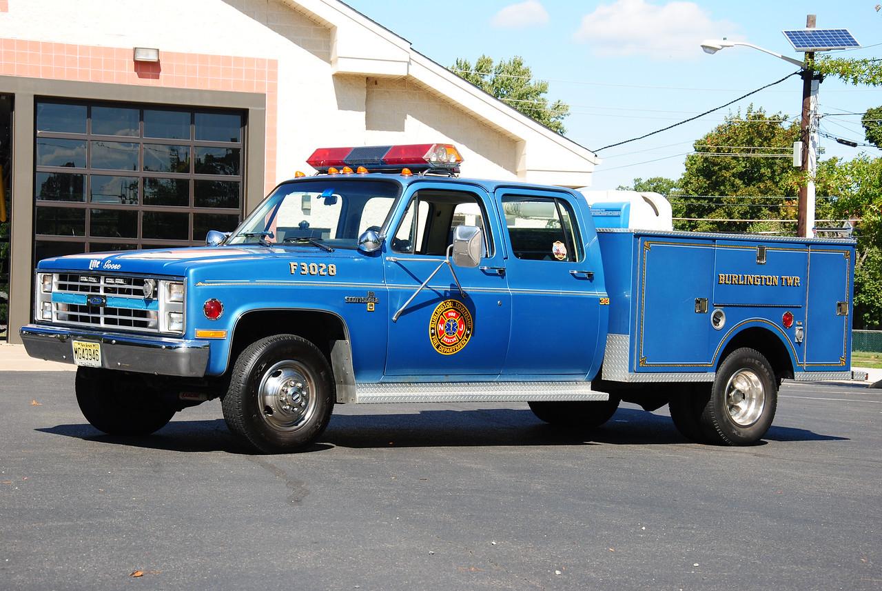 Beverly Road Fire Company, Burlington Twp Utility 3028