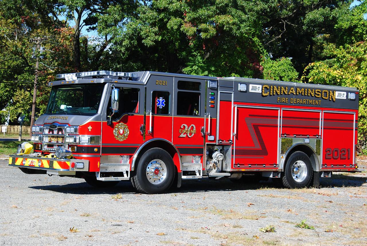 Cinnaminson Fire Department, Cinnaminson Engine 2021