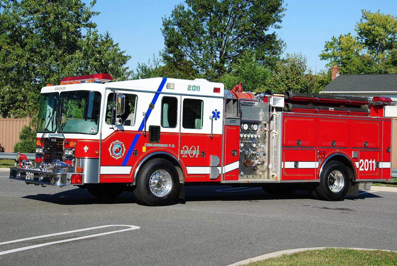 Cinnaminson Fire Department, Cinnaminson Ex-Engine 2011