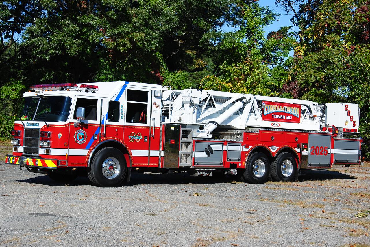 Cinnaminson Fire Department, Cinnaminson Tower 2025
