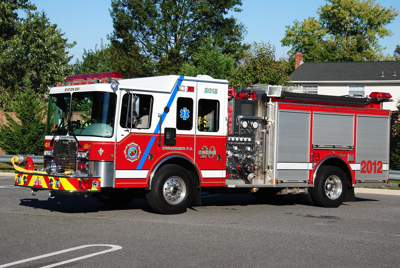 Cinnaminson Fire Department, Cinnaminson Engine 2012