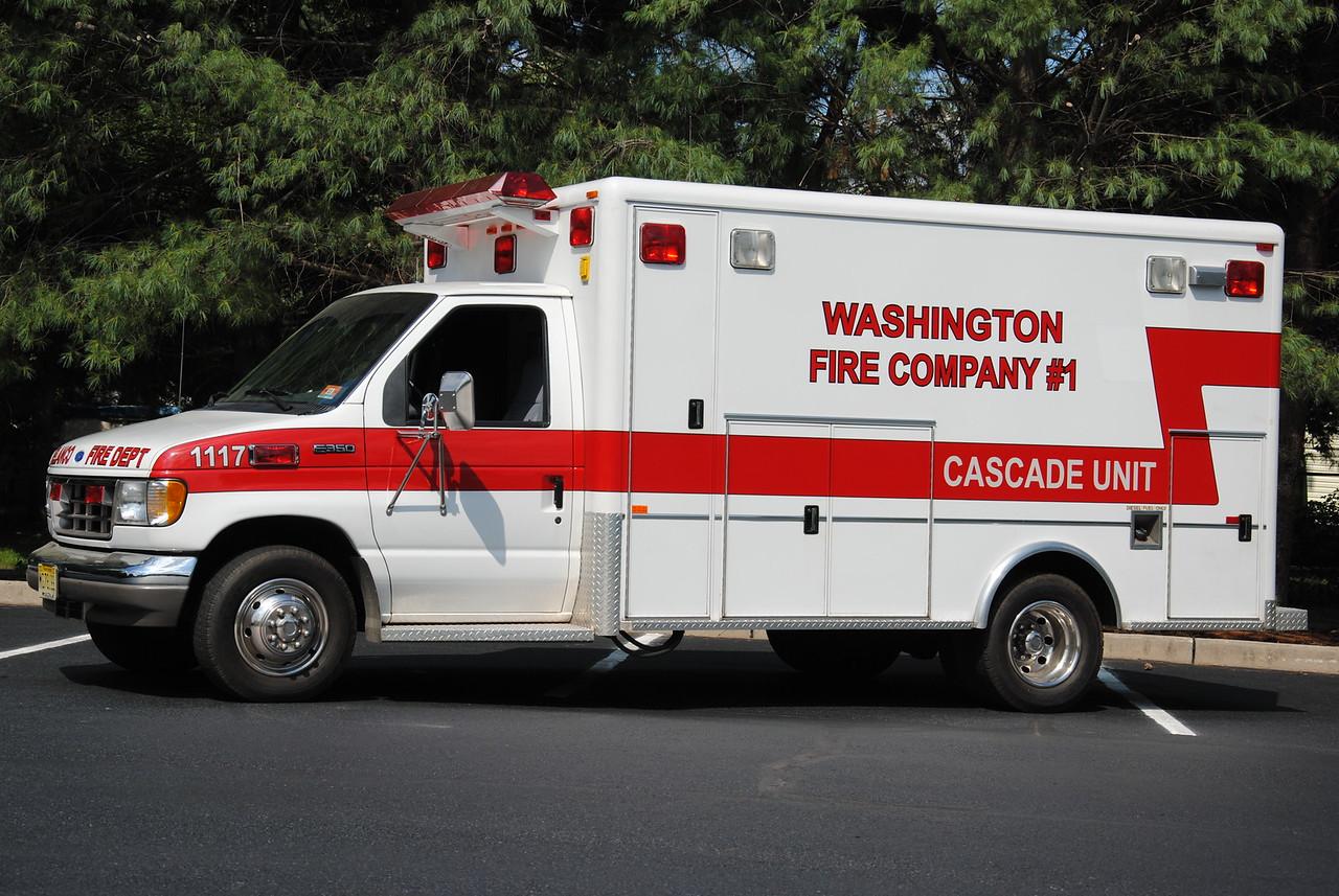 Washington Fire Company #1, Delanco Cascade 1117
