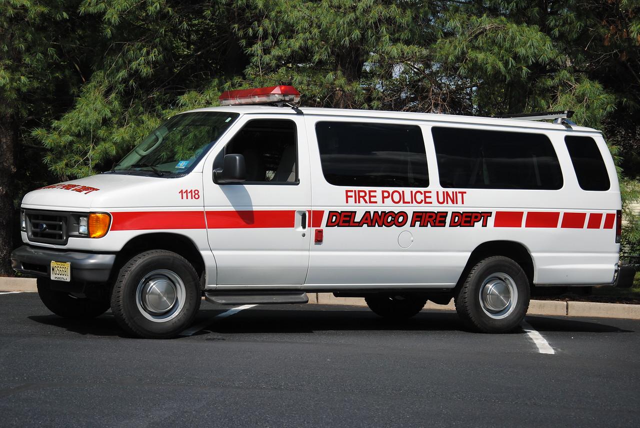 Washington Fire Company #1, Delanco Fire Police 1118