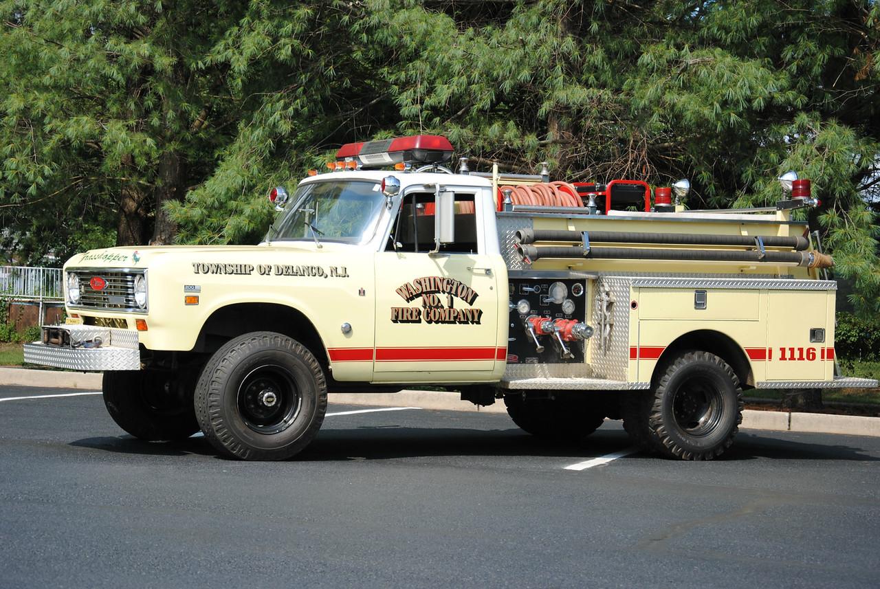 Washington Fire Company #1, Delanco Brush 1116