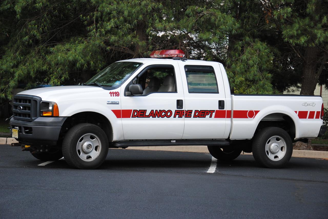 Washington Fire Company #1, Delanco Utility 1119